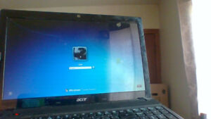 acer aspire laptop works great prob needs an update or too