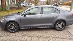 2013 Volkswagen Jetta HIGHLINE Sedan 2.5 6sp Grey Met/Black Vien