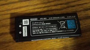 Battery for DS XL new.