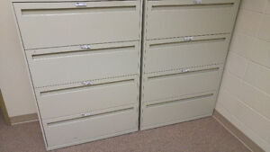 Office furniture - desk, chairs, reception, file cabinets