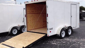 Looking for a 14ft enclosed trailer