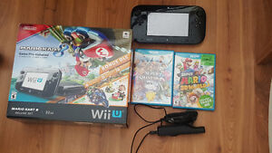Wii U 32 GB expansion with mario kart 8 built in
