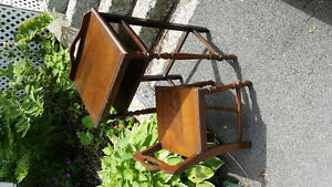 Antique Telphone Table and Chair