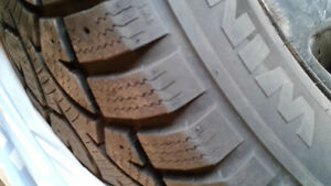 WINTER TIRES - LIKE NEW