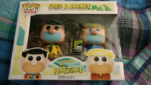 Fred and Barney Funko comic Con exclusive