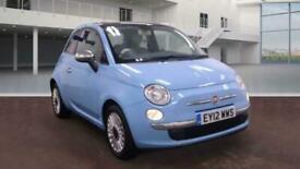 image for 2012 Fiat 500 1.2 Lounge (s/s) 3dr Hatchback Petrol Manual