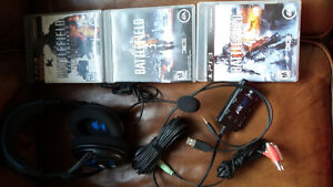 3 games and a new head set.