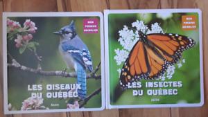 Imagiers les oiseaux et les insectes du Québec