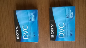 2  SONY  VIDEO  CASSETTES