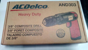 ACDELCO 3/8DR COMPOSITE AIR POWERED DRILL
