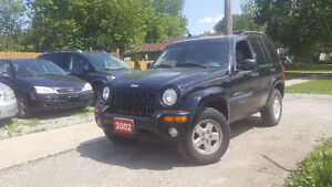 LEASE TO OWN IN 2 YEARS 2002 Jeep Liberty 95,000 Kms $46.25/week