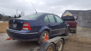 Parting Out 2005  Tdi 5 speed Jetta