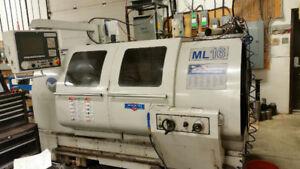 Milltronis CNC / Manual Lathe (ML-16)