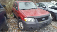 2006 ESCAPE. JUST IN FOR PARTS AT PIC N SAVE! WELLAND St. Catharines Ontario Preview