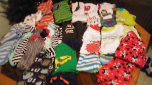 Boys clothing lot.  12-18 mos. Infant to toddler toys.  Musical