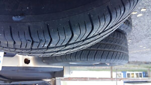 P 185/65 R 14 TIRES WITH RIMS !!!!EXCELLENT CONDITION Prince George British Columbia image 2