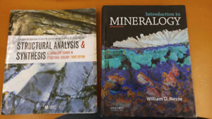 Selling Geology Textbooks $50