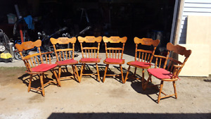 Wooden kitchen chairs for sale