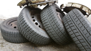 Tires and rims  215 55 16