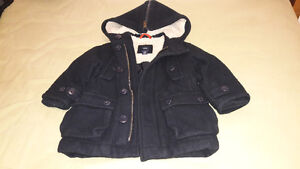 BLACK BABY GAP WINTER COAT FOR 18-24 MTHS OLD Kitchener / Waterloo Kitchener Area image 5