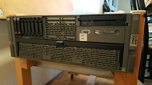 HP Proliant DL585 G2 Quad AMD 2.8G 8GB Ram 2x72GB Drives Server