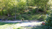Shuswap Lake Recreational Lot with waterfront and boat slip