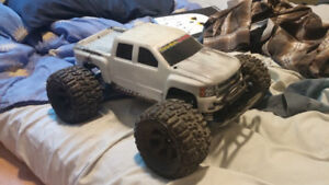 Trading a nice rc truck for a 3 or 4 wheeler