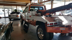 MINT CONDITION 93 GMC 4500 SERIES RECOVERY TOW TRUCK $17900 MUST
