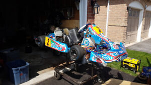 Rotax karts and dd2 for sale and  trailer maybe