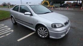 2003 Vauxhall Astra 2.2i 16v SRi only 36334 miles guaranteed Shrewsbury