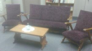 Vintage European living room furniture set