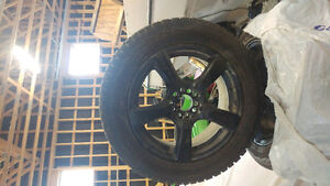 Hancook tires and touren rims 18 inch