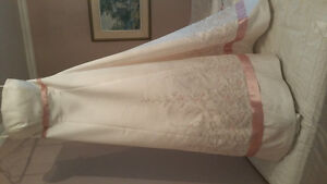 Mori Lee blush wedding gown