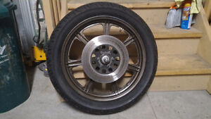 1982 XS400 Wheels with Brand New Tires