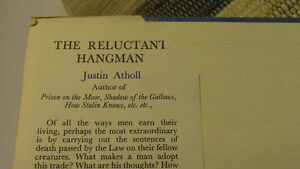 The Reluctant Hangman, Life of a Hangman, 1956 Kitchener / Waterloo Kitchener Area image 2
