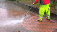 Interlock Power Washing Sanding and Sealing