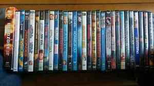 Lot de 30 dvd divers