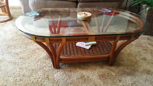 coffe table and end table
