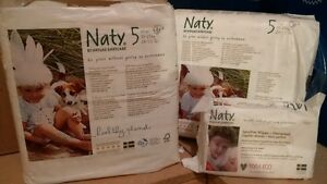 Nature Babycare 2x23 Pack Eco Friendly Diapers Sz5 + 1 Pk Wipes