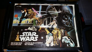 Vintage Star Wars action figure collectors case from 1977/1978.. London Ontario image 1