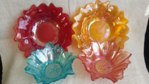 Turkish Art Glass Serving Dishes Dining Ware from $10