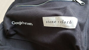 BNWT Stone & Cloth Black Canvas Backpack