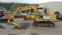 MITSUBISHI MS070 EXCAVATOR WITH 3 BUCKETS