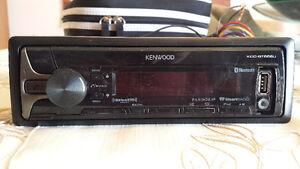 RADIO D'AUTO KENWOOD CD MP3 AUX USB BLUETOOTH  MICRO