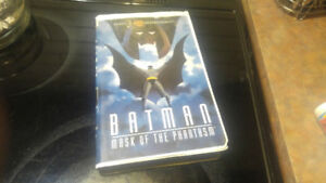 Batman: Mask of the Phantasm (1993) - VHS Tape - Cartoon - Supe