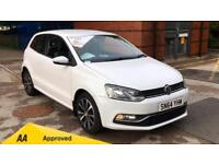 2014 Volkswagen Polo 1.0 SE Qualifies for Warranty4 Manual Petrol Hatchback