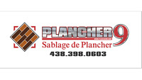 Plancher 9 / Sablage&Pose de Plancher / Escalier