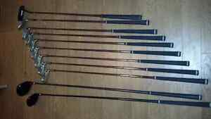 Full Knight Virage golf set with extra