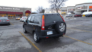 2002 Honda CR-V Black SUV, Crossover