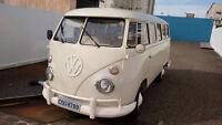 *1970 Volkswagen Kombi Bus, All Original Parts, No Rust